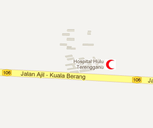Hospital Hulu Terengganu Location Map