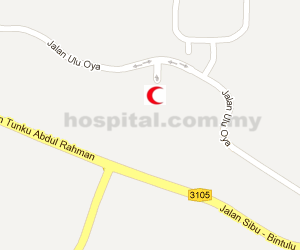 Hospital Sibu Location Map