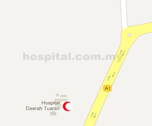 Hospital Tuaran Location Map