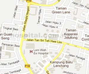 Lam Wah Ee Hospital Location Map